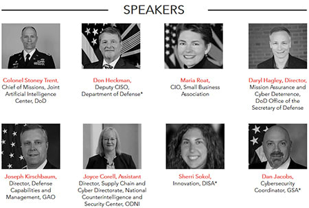 This is the lineup of speakers for a conference his organization is hosting next week. Apparently it <i>is</i> possible to bullshit on the internet until you get in front of the joint chiefs of staff.