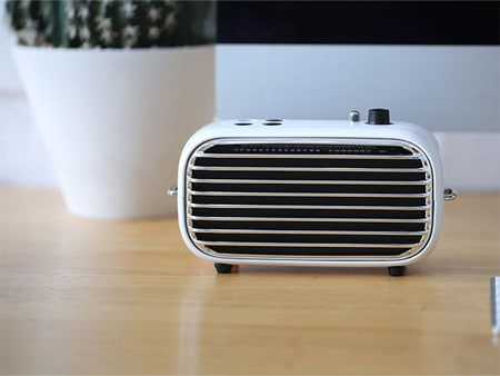Go Retro With This Stylish Bluetooth Speaker
