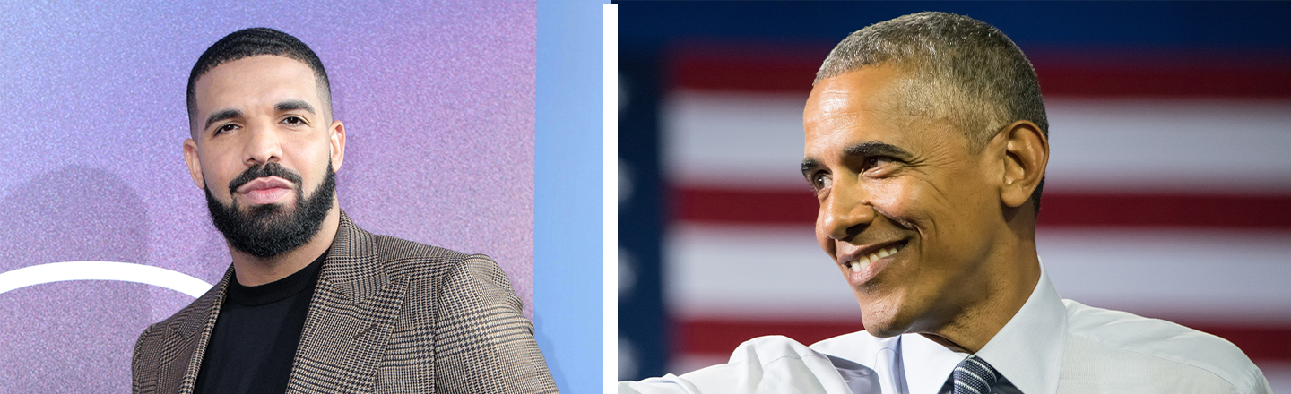 Barack Obama Says Drake Has His Presidential 'Stamp of Approval' To Play Him In Theoretical Biopic
