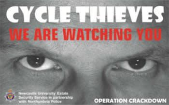 Big Biker is watching.