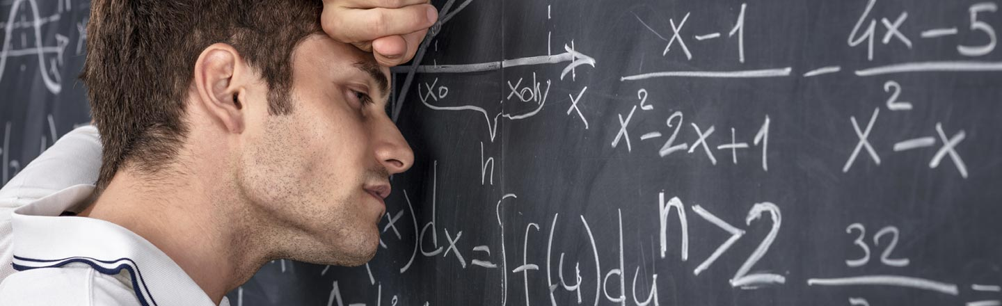 Math Anxiety Is A Real Thing That's Freaking You Out