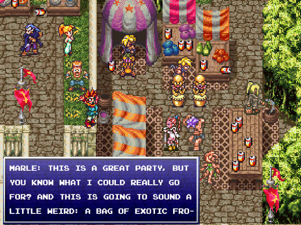 Chrono Trigger 2 : Benders of Time, Trippers of Balls