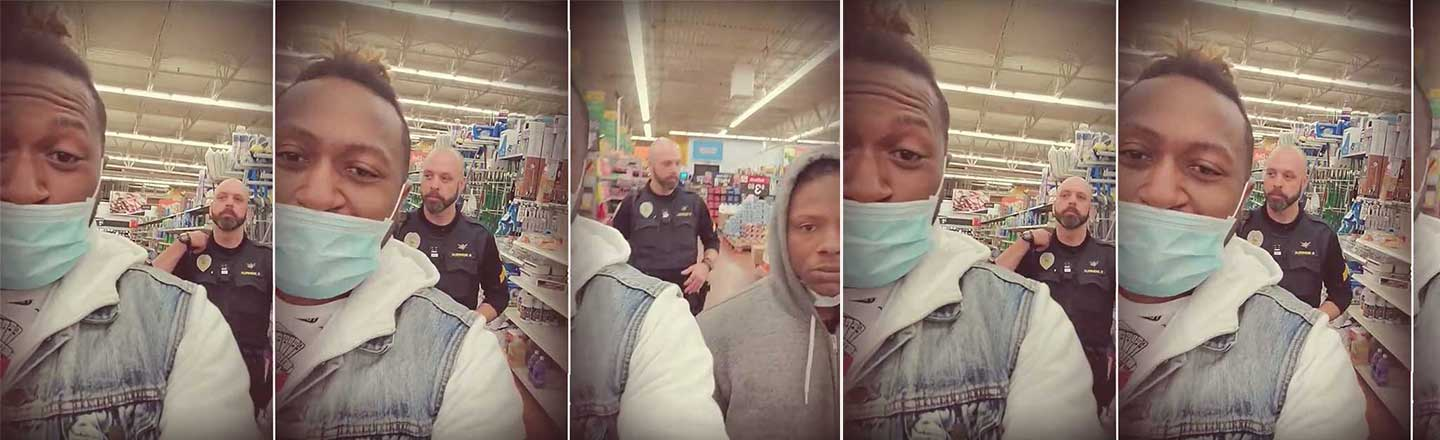 Two Black Men Were Kicked Out Of Walmart By Police For Wearing Facemasks