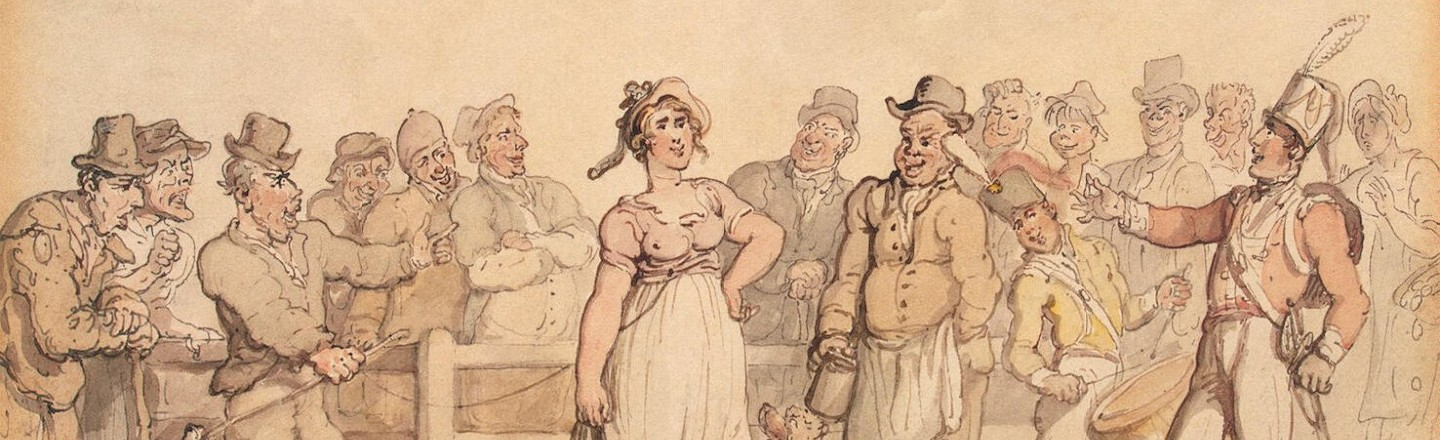 In 19th-Century England, Men Sold Their Unhappy Spouses In Wife Auctions