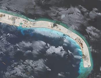 Yep. <i>Super</i> weird that these islands just sorta happened, guys.