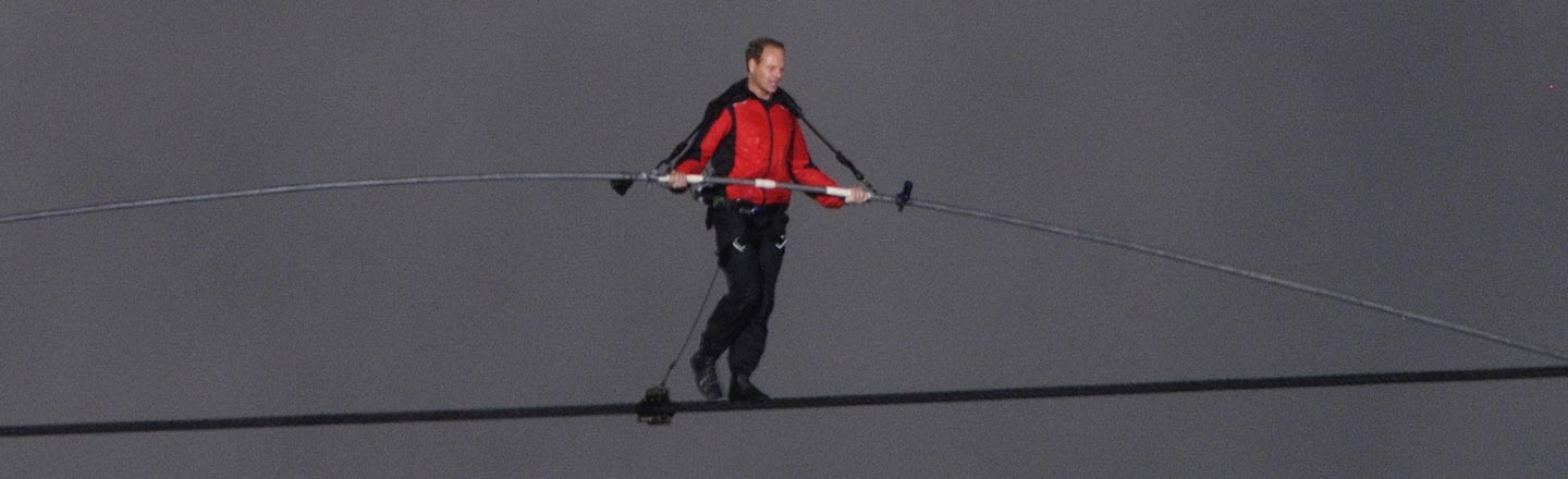 Honestly, Nik Wallenda Can Stop The Tightrope Stuff Anytime Now