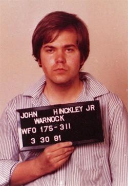 5 Forgotten Times Presidents Narrowly Escaped Death - a mugshot of John Hinckley Jr.