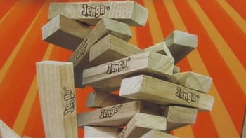 We're gonna go with a disaster movie based on Jenga for that one.