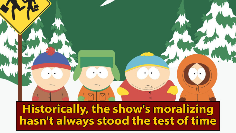 Maybe We Don't Need to Hear From 'South Park' Right Now