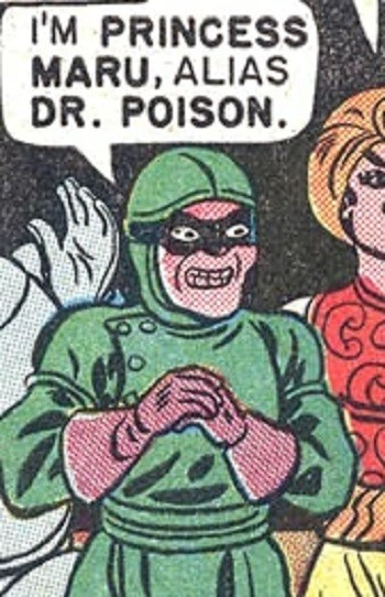 5 Characters Who Prove Wonder Woman's Villains Are The Worst -  the origins of the Wonder Woman villain Dr. Poison