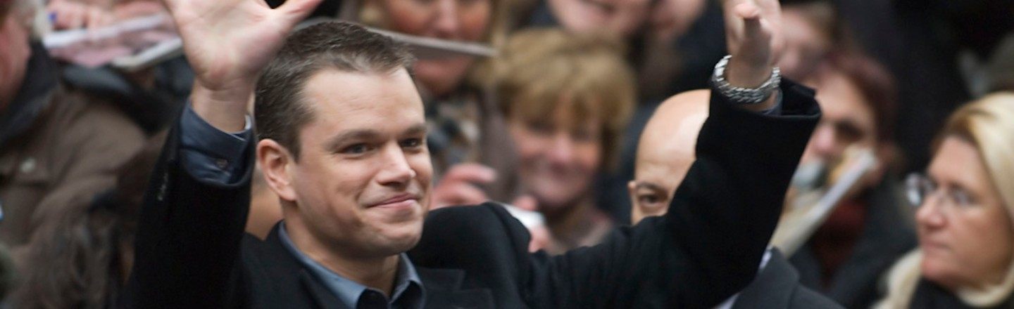 Matt Damon Is Living A Fish-Out-Of-Water Comedy In Ireland