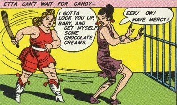 5 Characters Who Prove Wonder Woman's Villains Are The Worst - Dr. Poison vs. Etta Candy