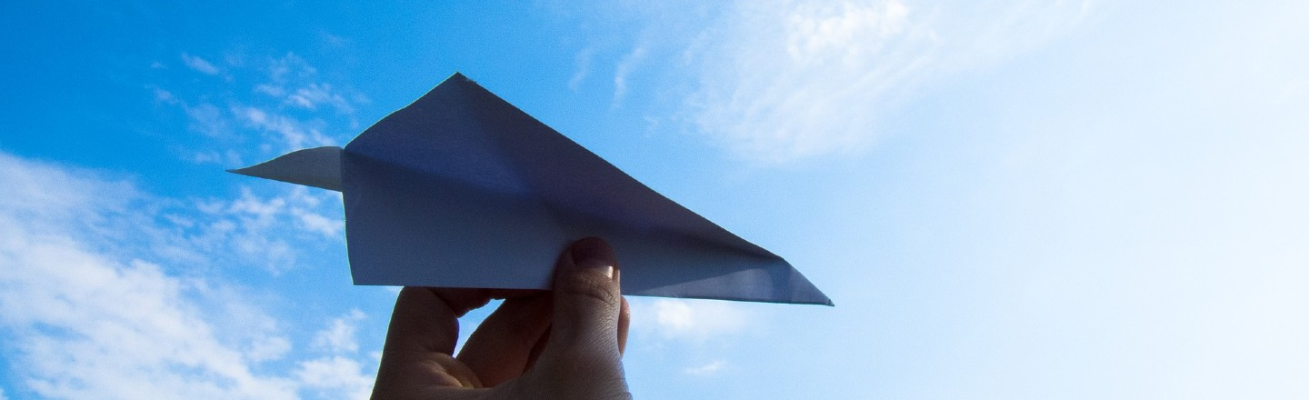 Paper Airplanes Existed Long Before Real Ones