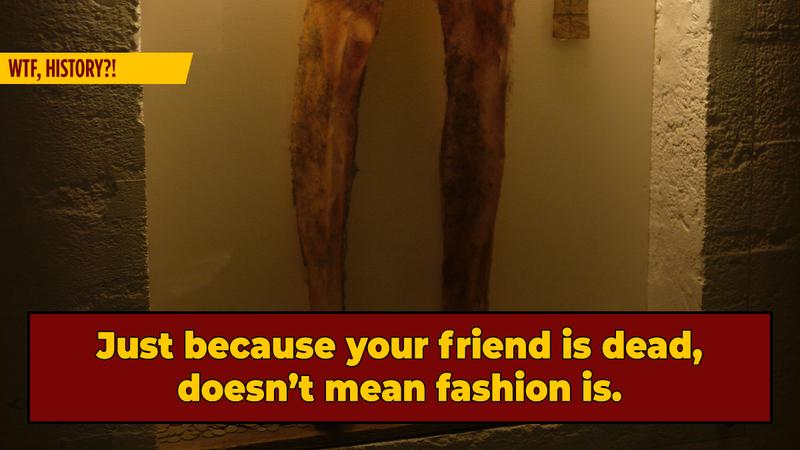 Medieval Iceland's Darkest Fashion Trend: Necropants