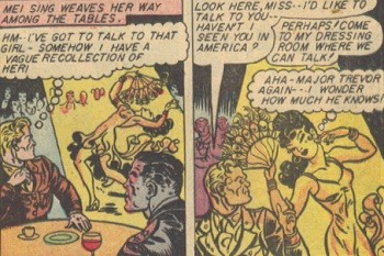 5 Characters Who Prove Wonder Woman's Villains Are The Worst -  Dr. Poison seducing Steve Trevor