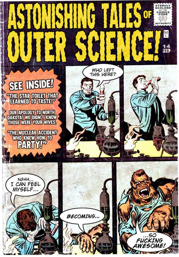 Sci-Fi Stories for Badassed Men