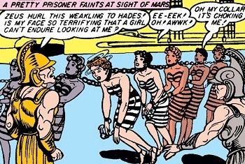 5 Characters Who Prove Wonder Woman's Villains Are The Worst - an early appearance of Ares in the Wonder Woman comics