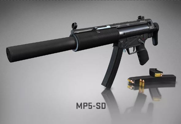 Hi, DarkWebGunRunner83, it looks like there was a mix-up! I wanted the new MP5 <i>skin</i>, not a real one with the serial number scratched off.