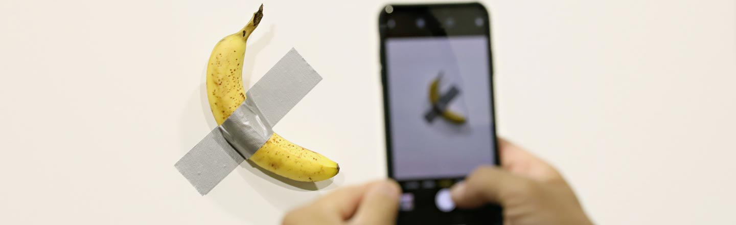 That $120K Banana Art Piece Was Bound To End Badly (And Did)