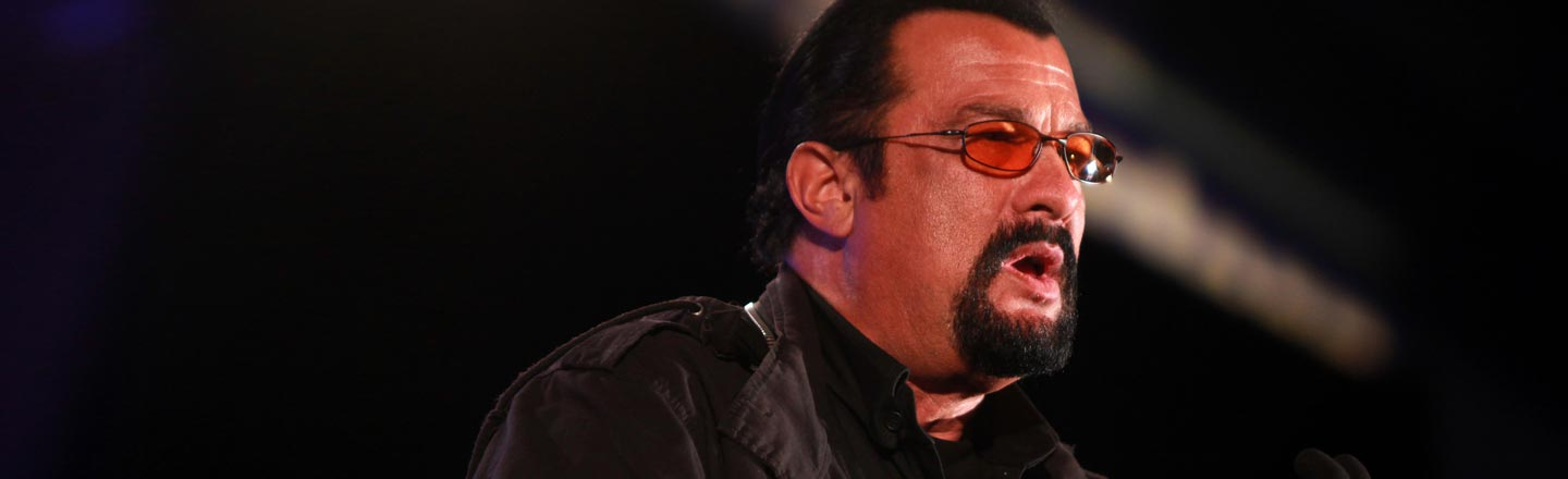 I Read Steven Seagal's Insane Novel So You Don't Have To