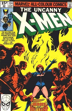 15P 134 MARVEL ALL-COLOUR COMICS ER YXMEN THE UNCANNY THE ETERIE cuu HIS TEANSEOREA PATeNrE INTO THER ALACEOWEEW aRE Y XMEN TODLATE TOSAVT E AR WUSLIT