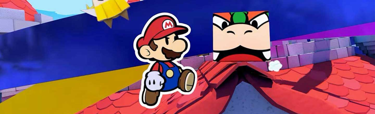 The New 'Paper Mario' Is Proof That Mario Is The Only Franchise Allowed To Get Weird