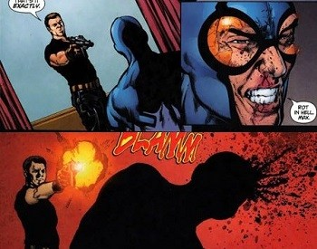 5 Characters Who Prove Wonder Woman's Villains Are The Worst - Maxwell Lord kills the Blue Beetle