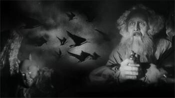 a still from Faust By F. W. Murnau