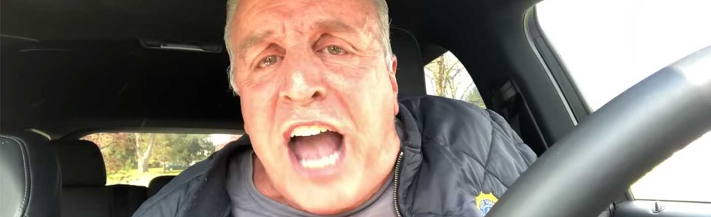 This Yelling Man Is Pure Catharsis