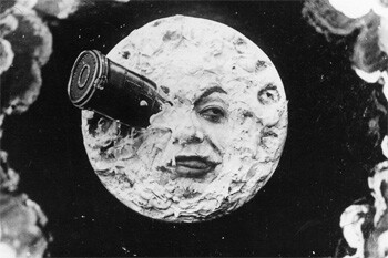 a still from A Trip To The Moon