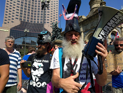 The RNC Stayed Safe Because Of This Clown (Seriously)