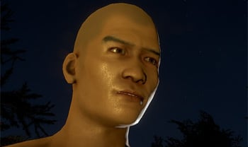 Yes, I spawned as an Asian man with an exposed 28-inch penis. I expect you all to be mature about this.