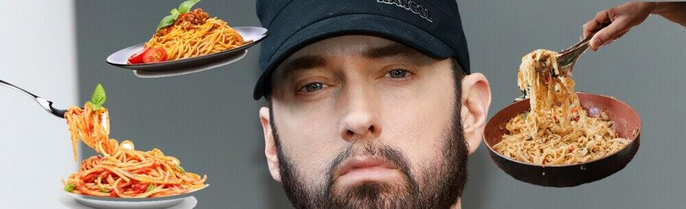 Eminem Is Opening 'Mom's Spaghetti' Pasta Restaurant