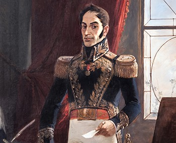 The Historical Figure Who Invented A Country (And Got Away With It) - illustration of Simon Bolivar