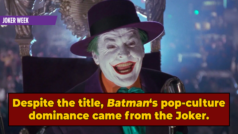 Why Do We Even Have Batman Movies Today? The Joker.
