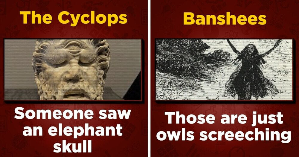 4 Stupid Real-World Origins Of Mythical Monsters & More Fun History