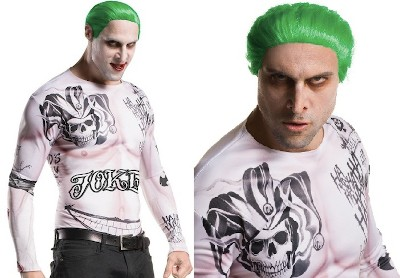 The Weird Confusing Tale Of The Most 'Huh?' Movie Joker: Jared Leto - a Jared Leto Joker Halloween costume from Suicide Squad