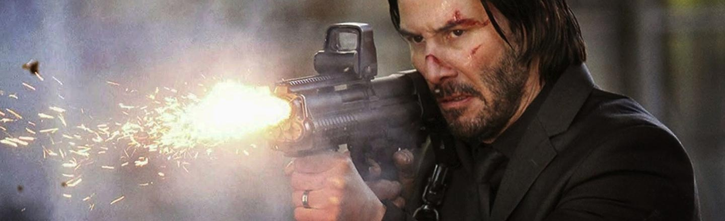 Real Talk Time: John Wick's Enemies Are Trying To Get Shot