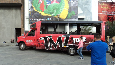 TMZ's Bus Tour: The Creepiest View of America Money Can Buy
