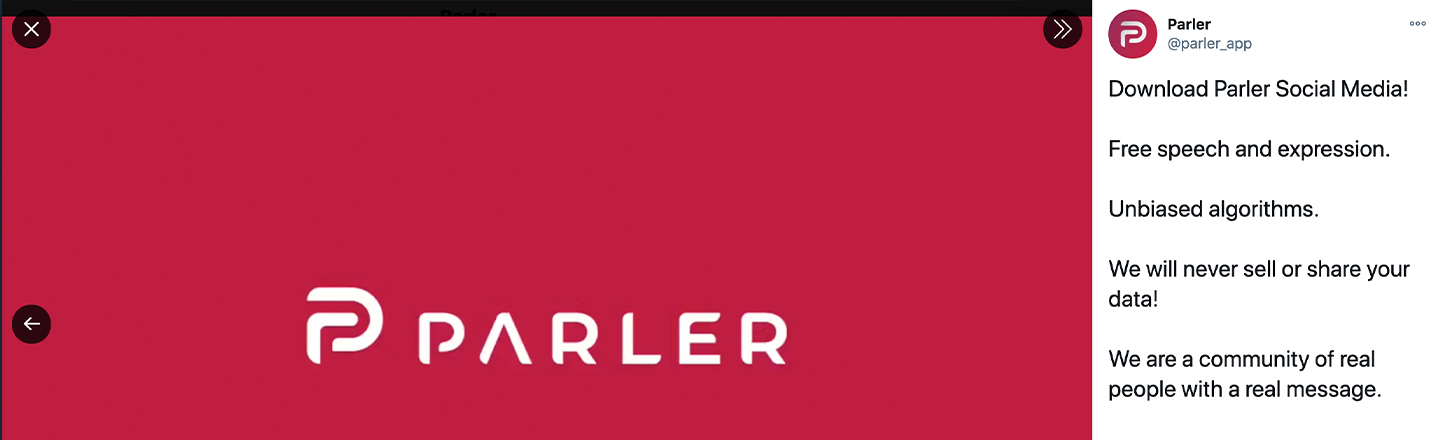 Sorry, Donnie! Parler May Be Down For Quite Some Time
