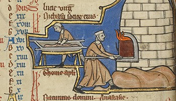 5 Spells That Prove Old-Timey Magic Was Bananas Stupid - medieval bakers baking loaves of bread