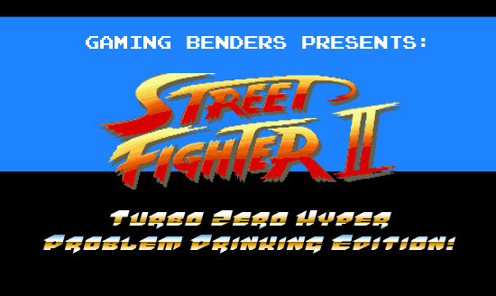 If The Characters from 'Street Fighter 2' Got Hammered