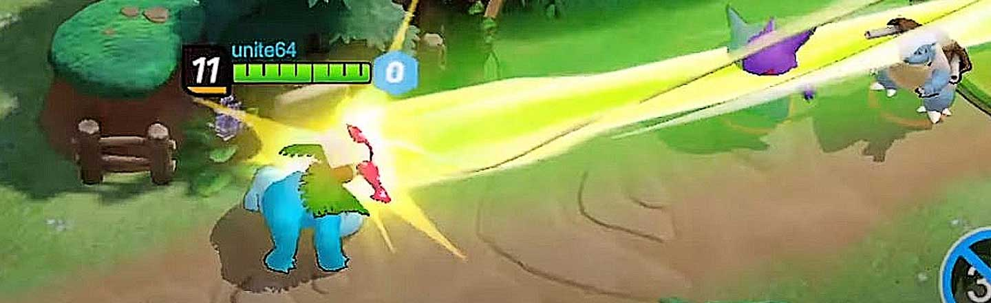 A 'Pokemon' MOBA Game IS Coming To Murder Your Wallet