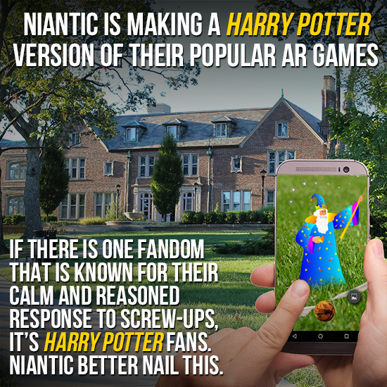 'Harry Potter' AR Could Be Niantic's Worst Move Yet