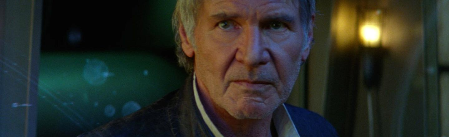 Let's All Stop Asking Harrison Ford About 'Star Wars'
