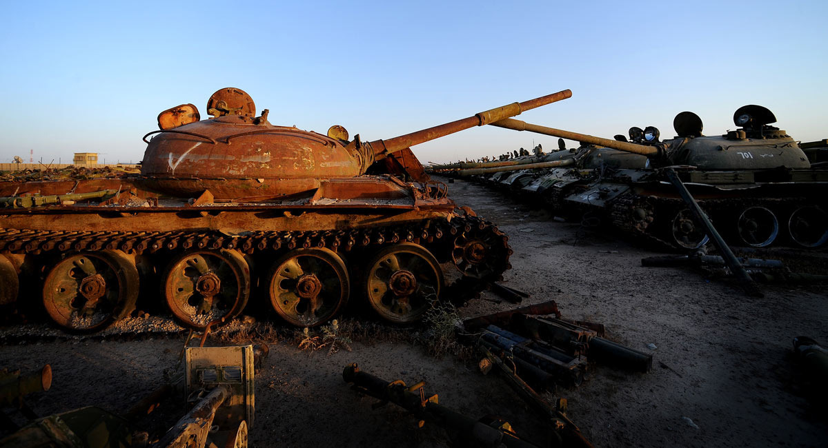 6 Images of Abandoned Weaponry You Won't Believe Are Real