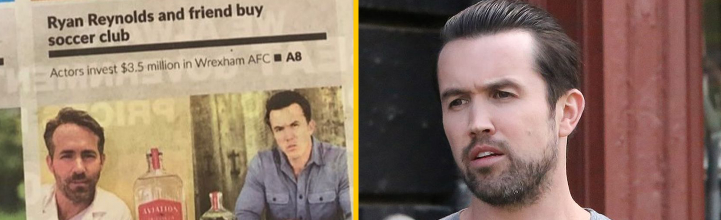 People Keep Confusing 'It's Always Sunny's' 'Mac' For Ryan Reynolds's Pal and Mark Wahlberg