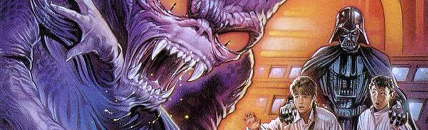 The Sheer Madness That Was The Star Wars Horror Book Series