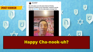 We've Been Pronouncing 'Hanukkah' Wrong All These Years, Smokey Robinson Says