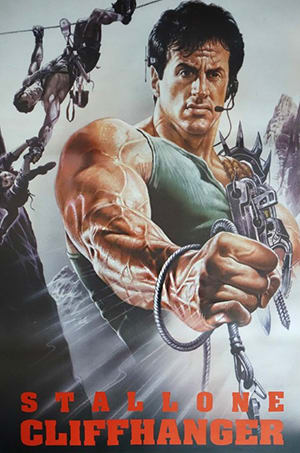 Though it kinda seems that if you saw Stallone's sack-full-of-bungee-cords arm and <i>still</i> bought a ticket, you lose the right to complain about it being unrealistic.